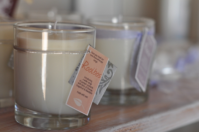 Rooibos candle